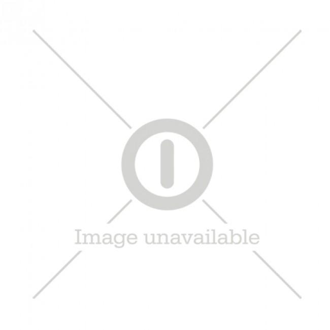 Caricabatterie agli ioni di litio GP 18650, 2 canali di ricarica, L211, incl. 2 batterie da 3.350 mAh